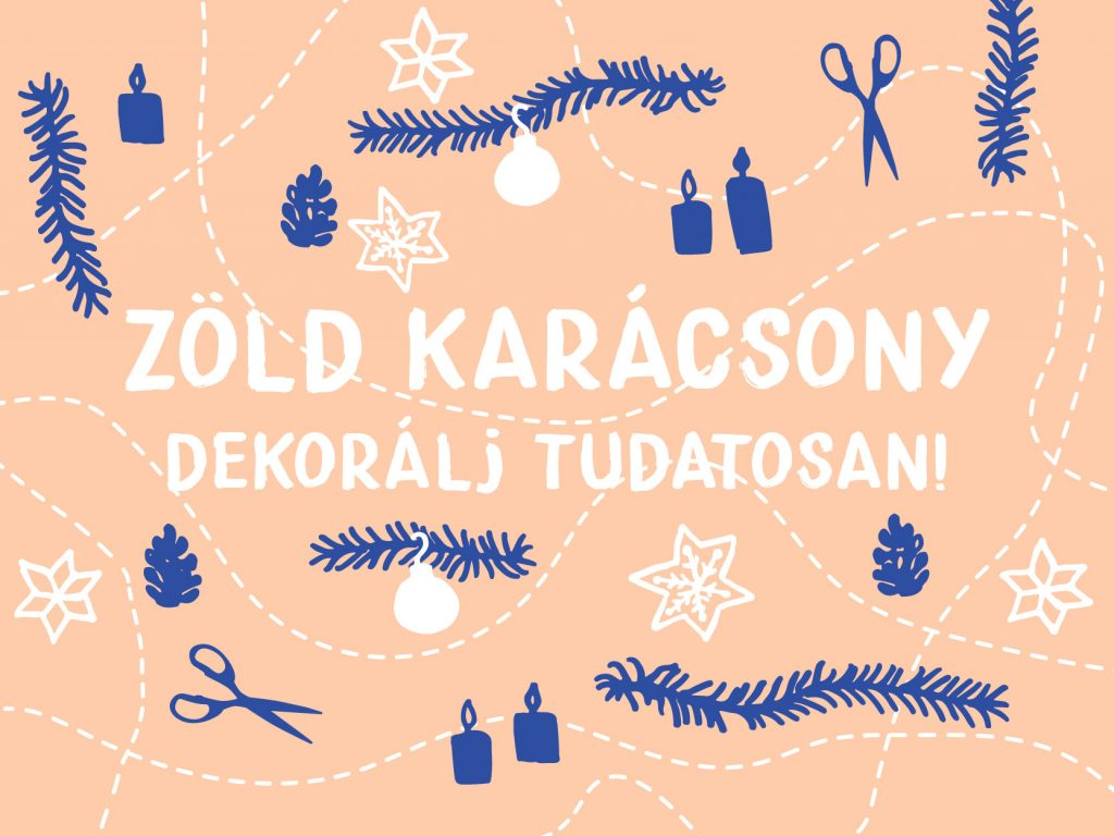Fenntartható karácsonyi dekoráció
