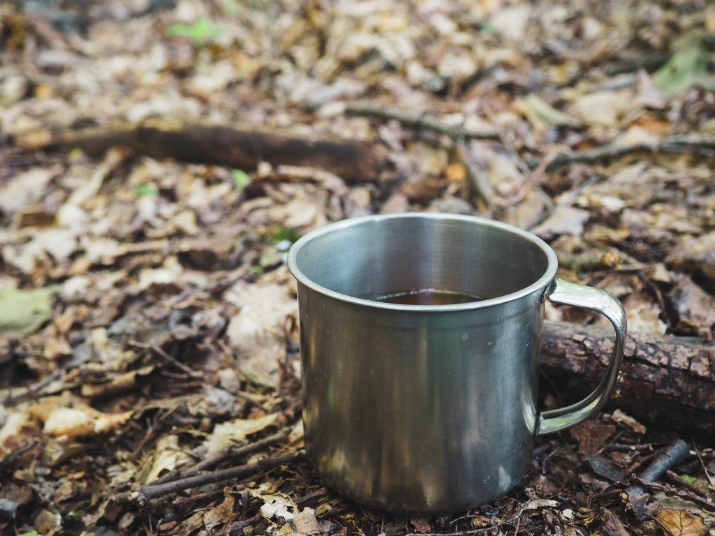 erdő tea bögre