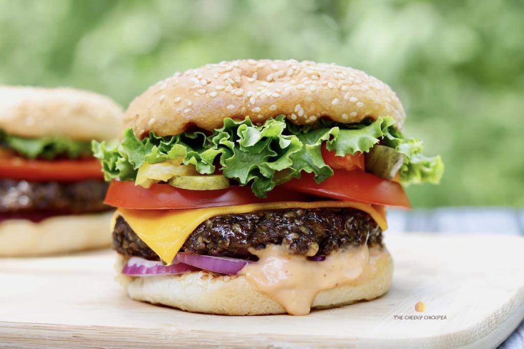 vegán hamburger